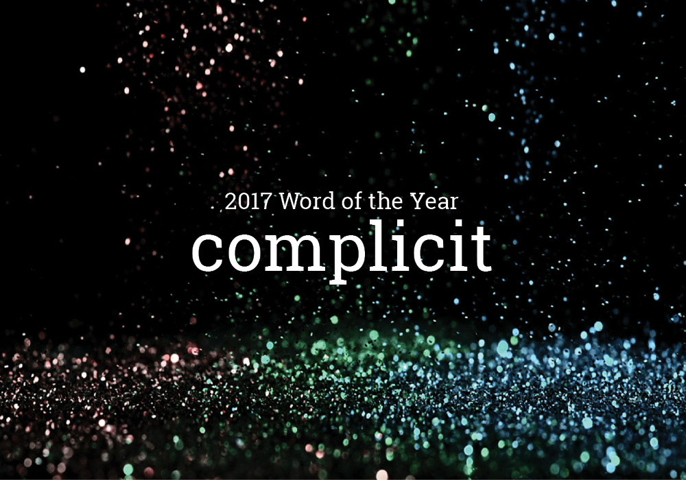 Word Of The Year 2017 for Dictionary.com